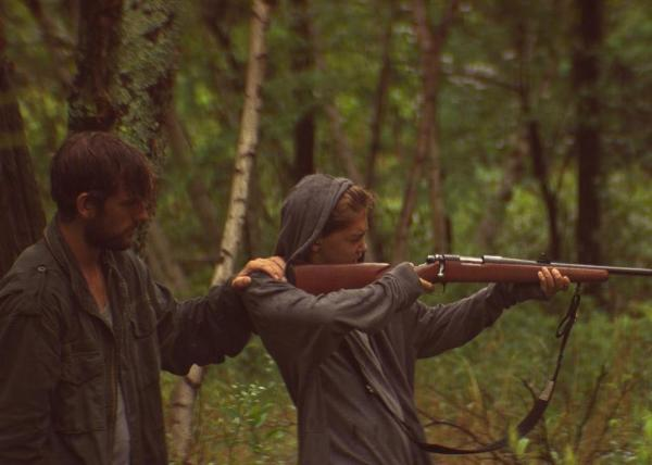 Alex Pettyfer And James Freedson Jackson - The Strange Ones Movie