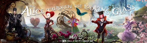 Alice in Wonderland 2 - New Billboard poster