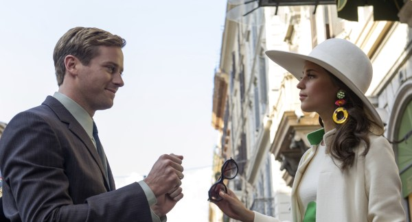 Alicia Vikander And Armie Hammer