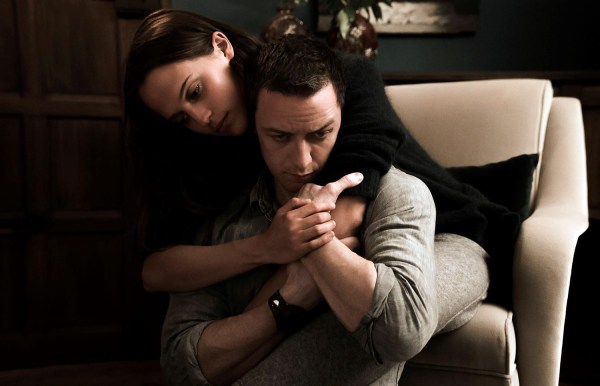 Alicia Vikander and James McAvoy - Submergence movie