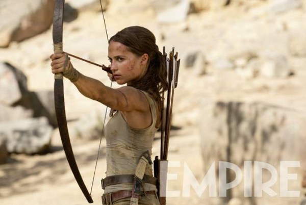 Alicia Vikander as Lara Croft - Tomb Raider movie