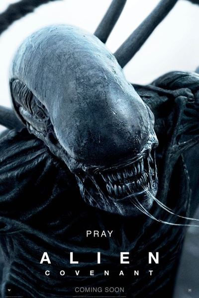 Alien Covenant Poster - Pray