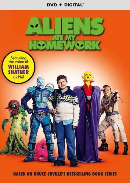 Aliens Ate My Homework Movie Poster