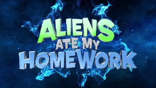 Aliens Ate My Homework Movie