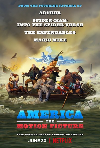 America The Motion Picture Movie Poster