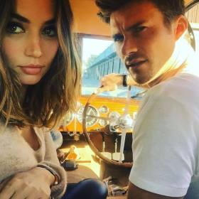 Ana de Armas and Scott Wastwood - Overdrive