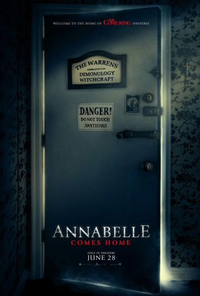 Annabelle Comes Home Teaser Poster
