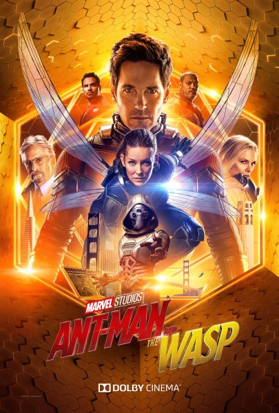 Ant Man And The Wasp Dolby Poster