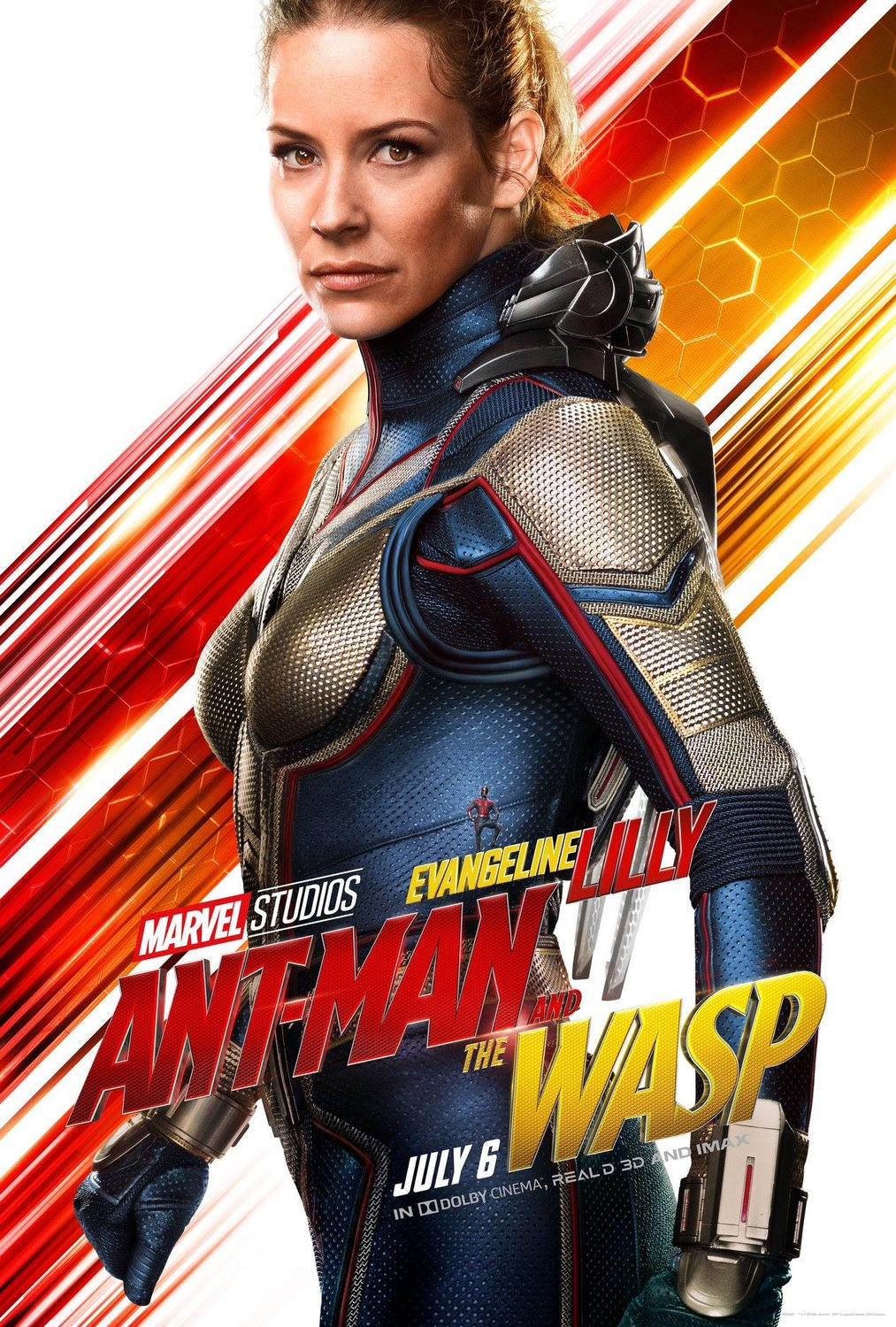 Michelle Pfeiffer Ant Man >> Ant-Man and the Wasp Movie Character Posters : Teaser Trailer