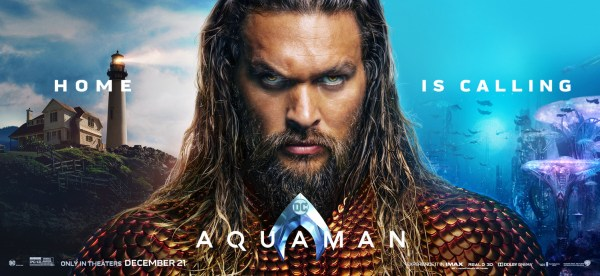 Aquaman - Home Is Calling - Banner Poster
