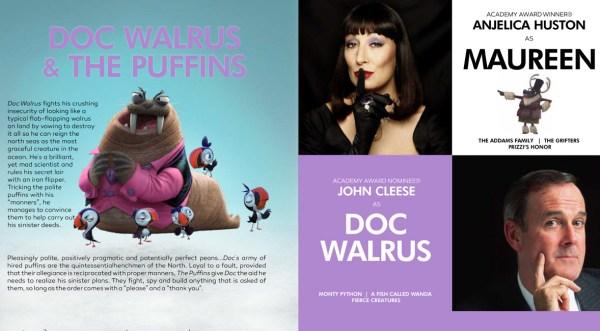 Arctic Justice - Doc Walrus and Maureen