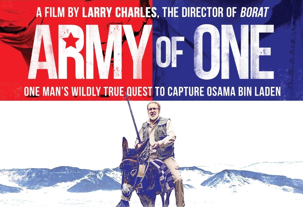 Army of One Full Movies Download 720p BluRay HEVC 500MB