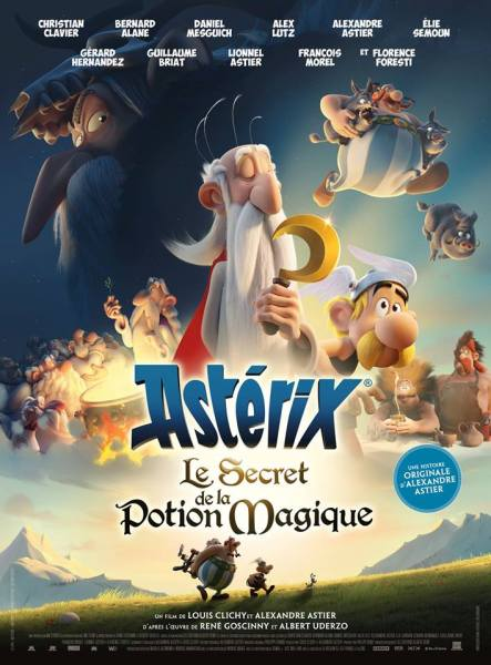 Asterix The Secret Of The Magic Potion Movie Poster