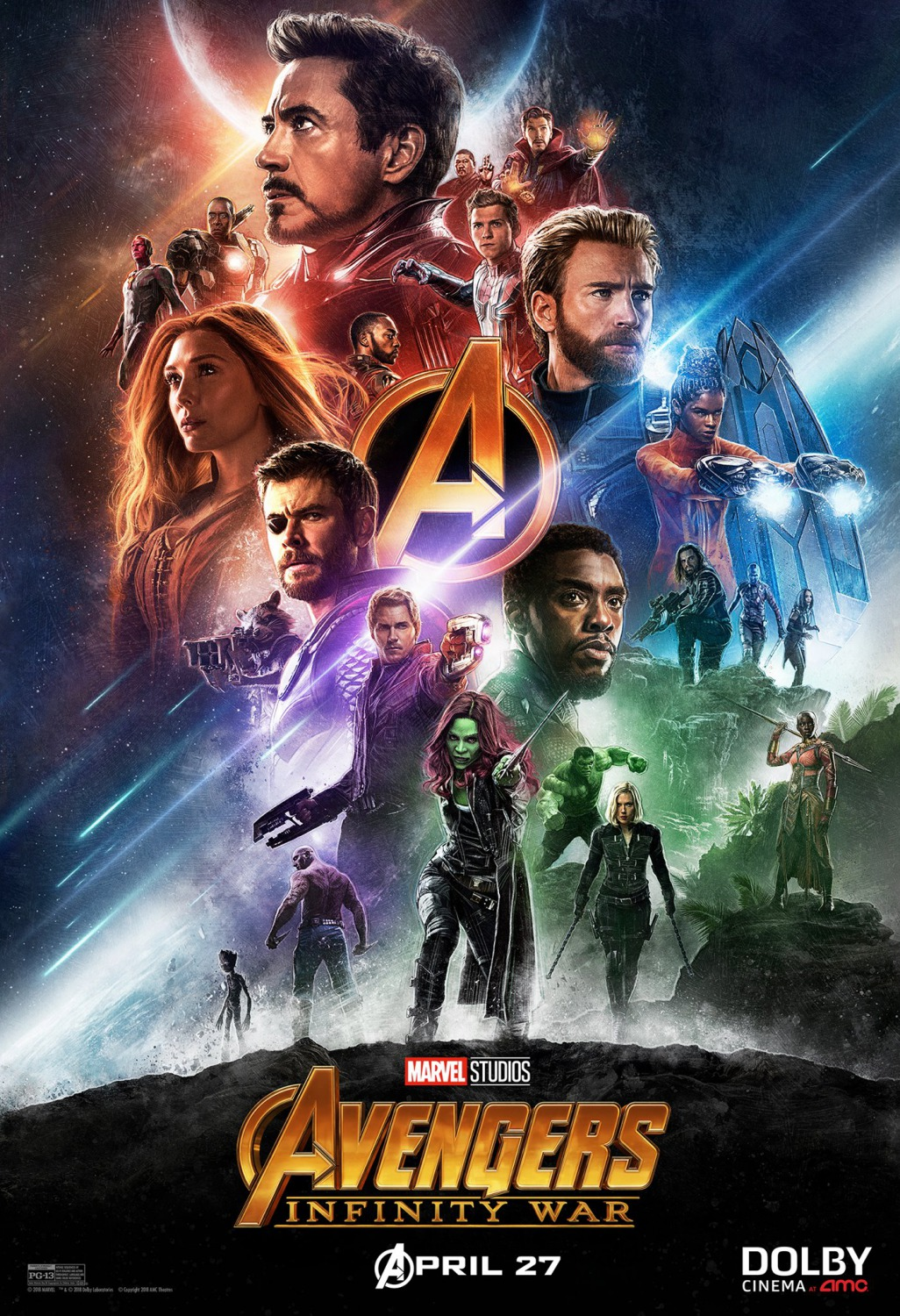 Avengers Movie Poster Set