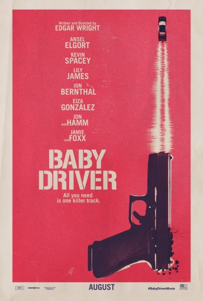 Baby Driver Movie Poster