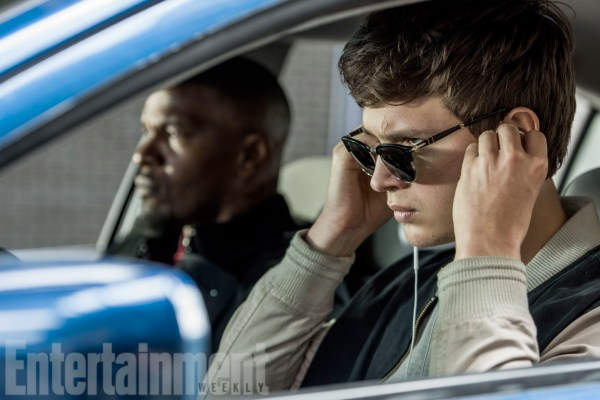 Baby Driver - Ansel Elgort and Jamie Foxx