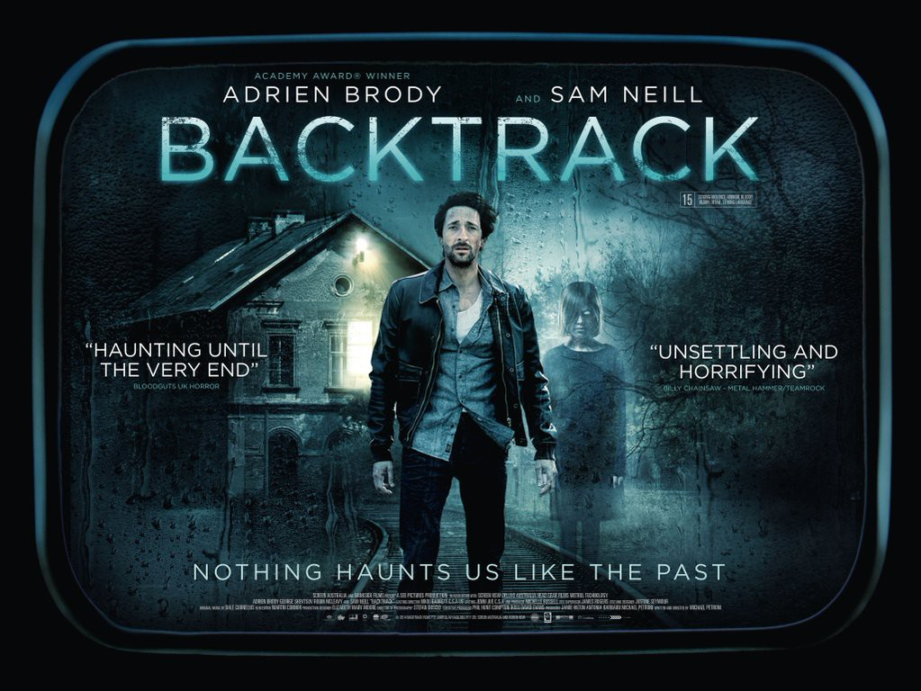 Movie Posters 2015: BACKTRACK