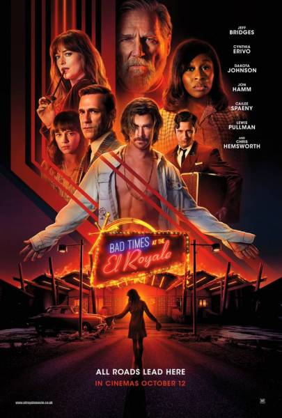 Bad Times At The El Royale UK Poster