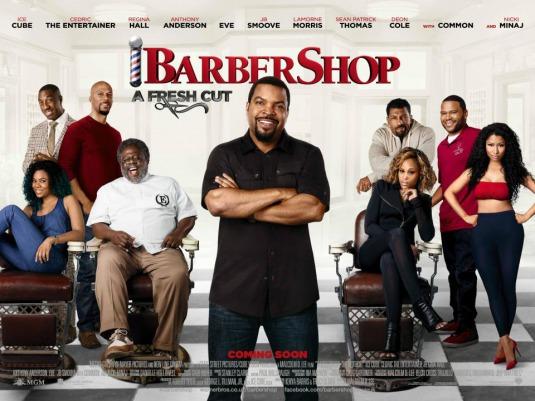 Barbershop 3 banner poster