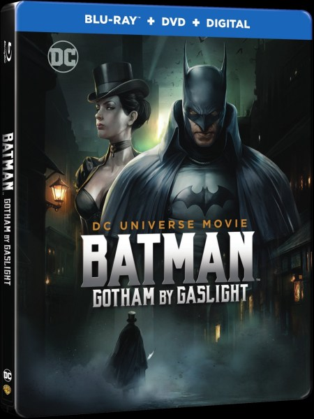 Batman Gotham By Gaslight Movie DVD Cover