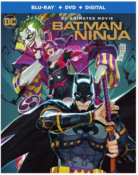 Batman Ninja DVD Cover
