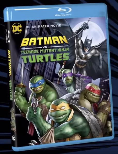 Batman Vs Teenage Mutant Ninja Turtles Movie Poster