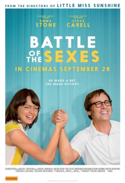 Battle Of The Sexes Australian Poster