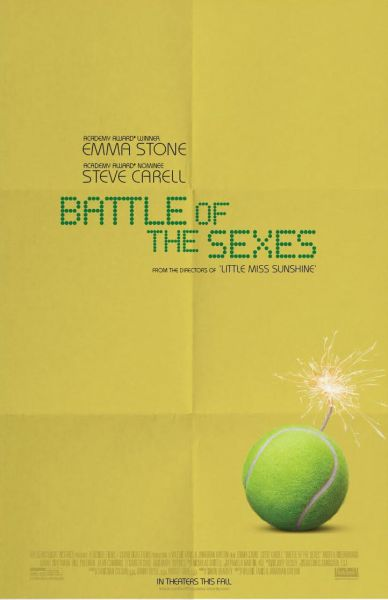 Battle Of The Sexes Movie Poster