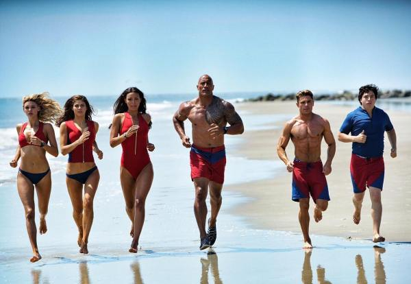 Baywatch Squad running