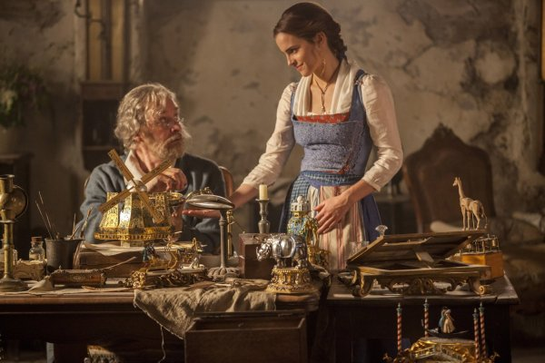 Beauty and the Beast Movie - Father and daughter