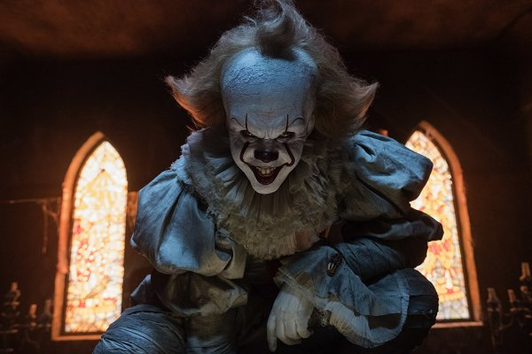 Bill Skarsgård in the movie It (2017)