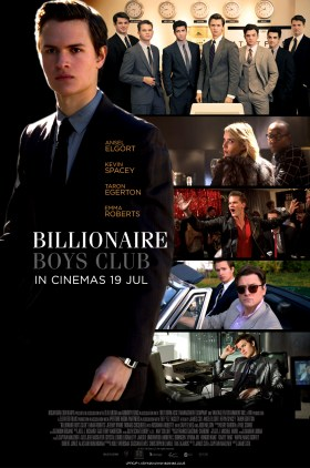Billionaire Boys Club Movie - Malaysia Poster