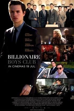 Billionaire Boys Club Movie - Malaysia Poster
