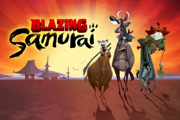 blazing samurai teaser trailer