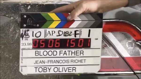 Blood Father Film Clapper