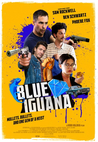 Blue Iguana Movie Poster