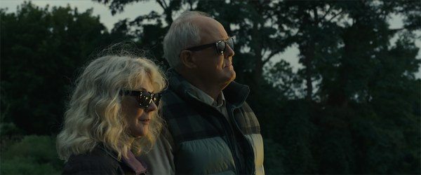 Blythe Danner And John Lithgow In The Tomorrow Man