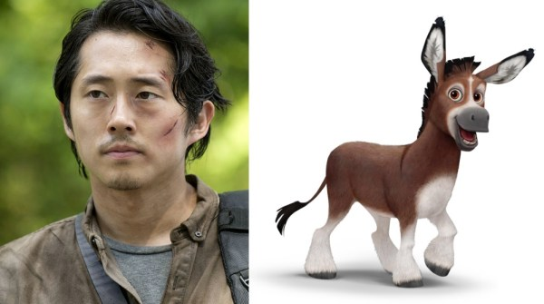 Bo The Donkey Voiced By Steven Yeun The Star Movie
