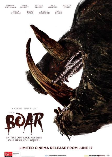 Boar New Film Poster