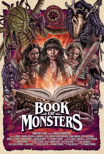 Book Of Monsters Movie Poster
