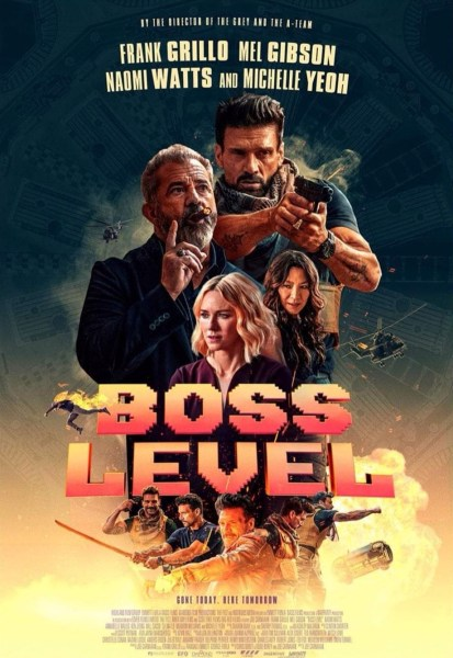 Boss Level Movie Poster