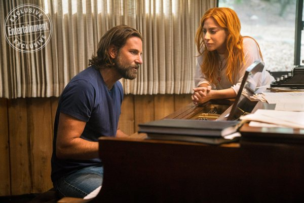 A STAR IS BORN - Bradley Cooper and Lady Gaga