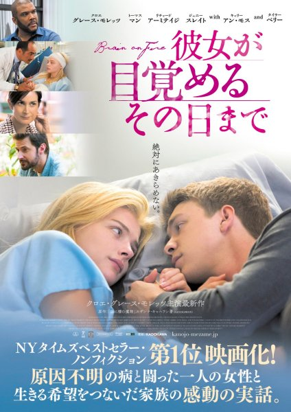 Brain On Fire Japanese Poster