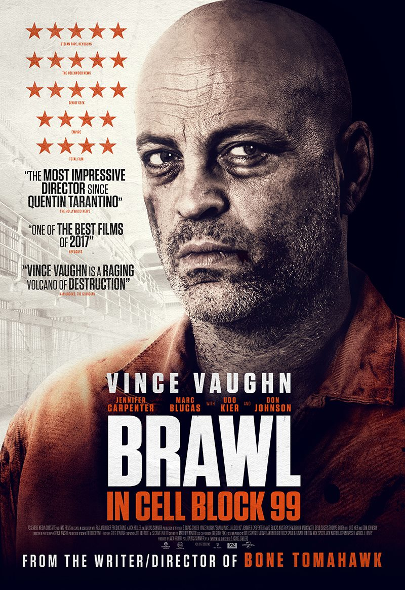 Image result for BRAWL IN CELL BLOCK 99 ( 2017 ) POSTER