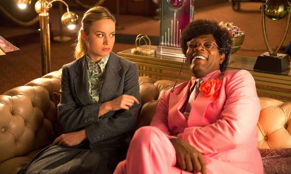 Brie Larson and Samuel L. Jackson - Unicorn Store Movie