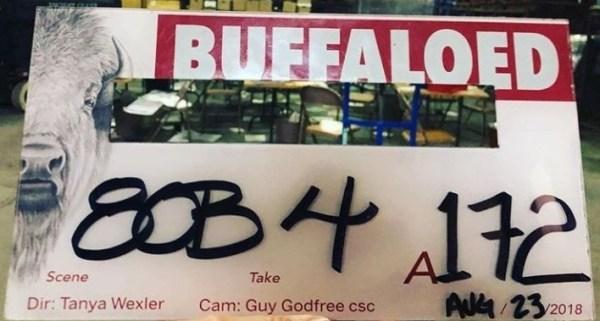 Buffaloed Film Slate