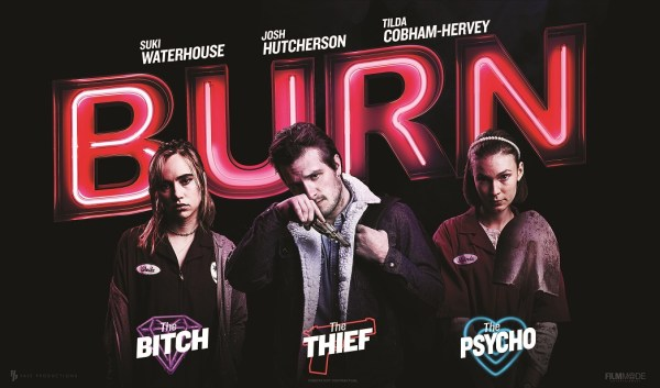 Burn Banner Poster