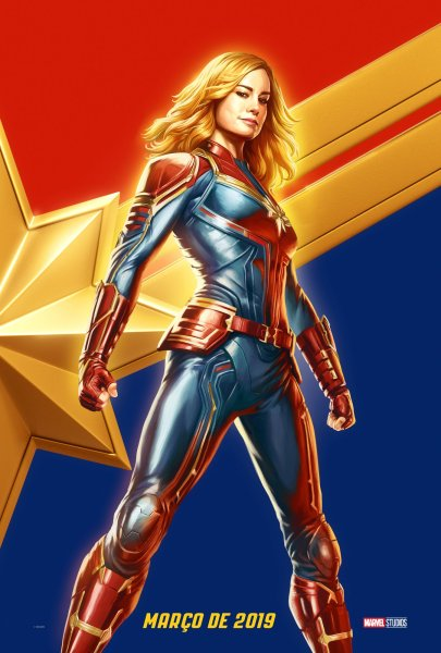 Captain Marvel Brazil Comic Con Poster