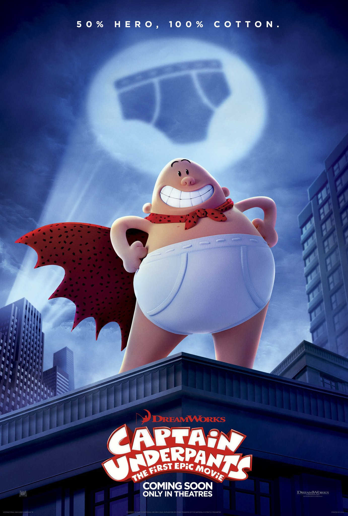 Image result for captain underpants movie poster
