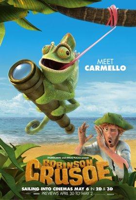 Carmello the chameleon